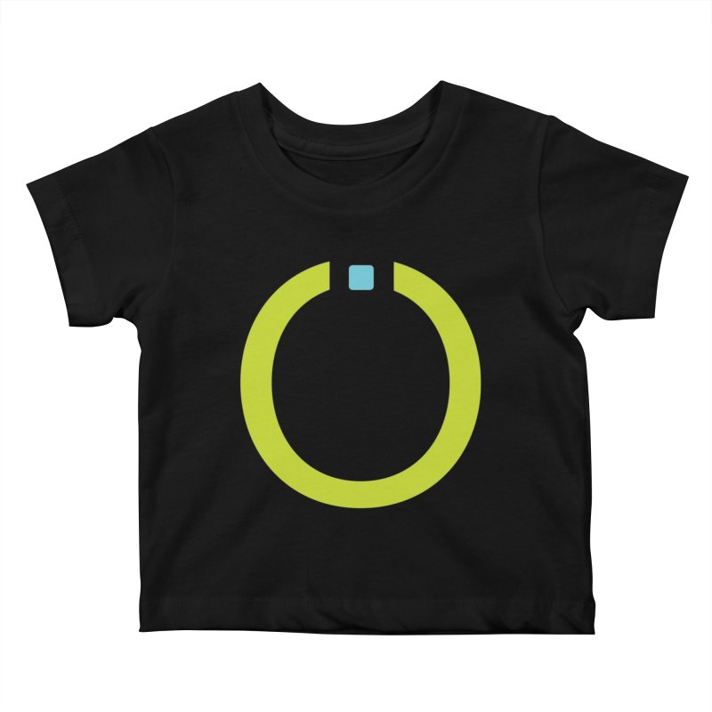 Green Pictogram Kids Baby T-Shirt by World Connect Merchandise