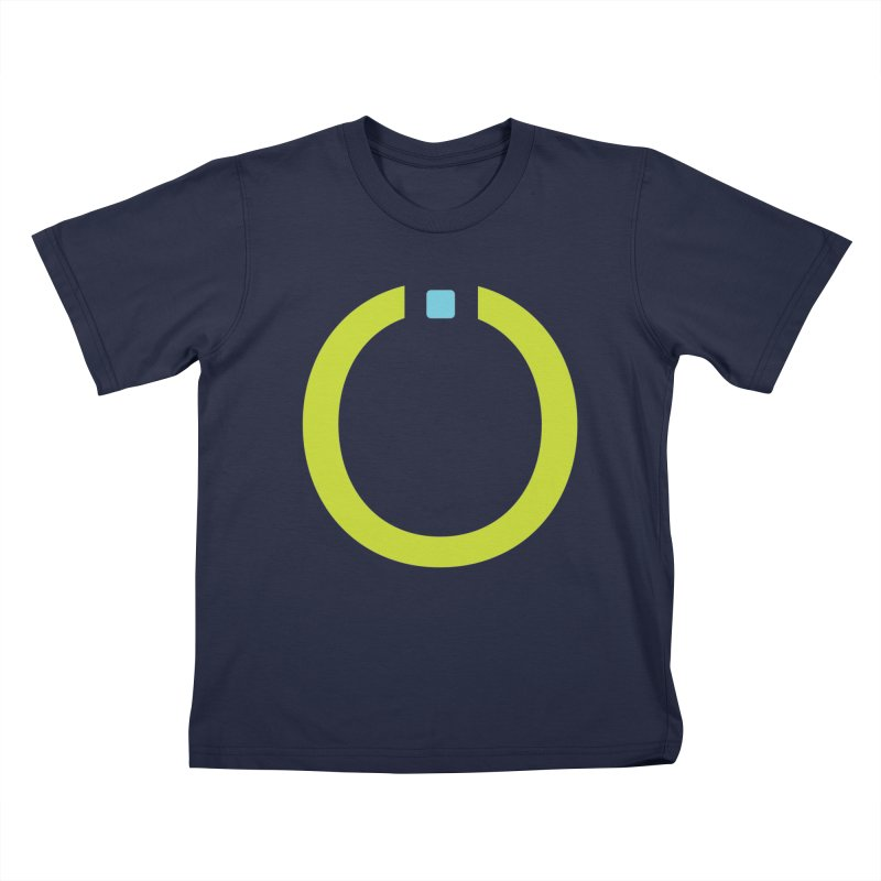 Green Pictogram Kids T-Shirt by World Connect Merchandise