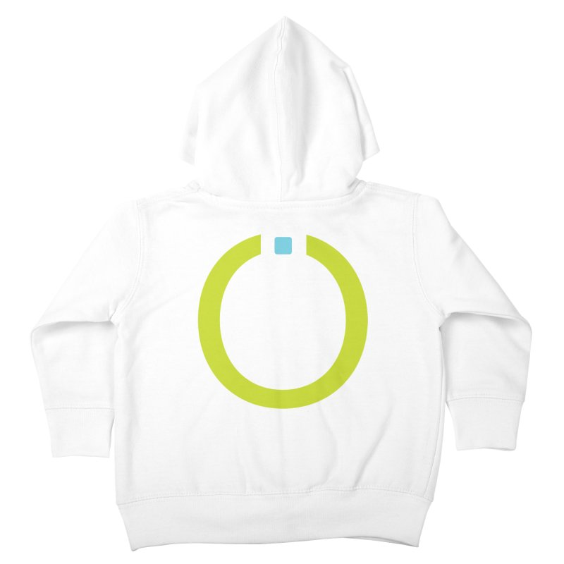 Green Pictogram Kids Toddler Zip-Up Hoody by World Connect Merchandise