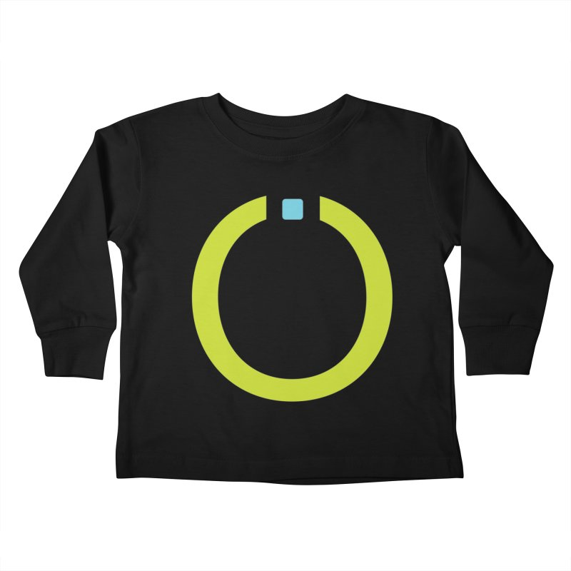 Green Pictogram Kids Toddler Longsleeve T-Shirt by World Connect Merchandise