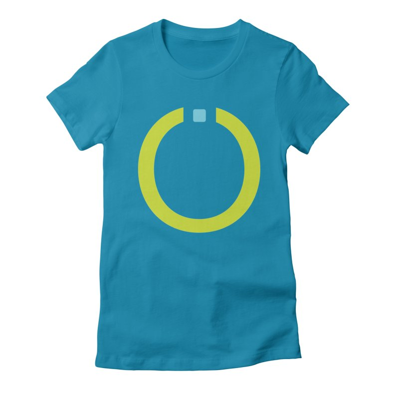 Green Pictogram Women's T-Shirt by World Connect Merchandise