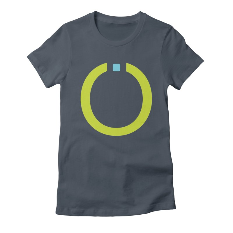 Green Pictogram Women's Fitted T-Shirt by World Connect Merchandise