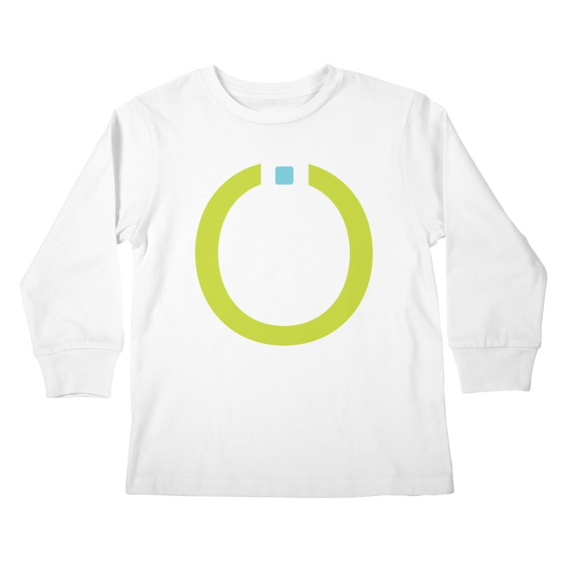 Green Pictogram Kids Longsleeve T-Shirt by World Connect Merchandise
