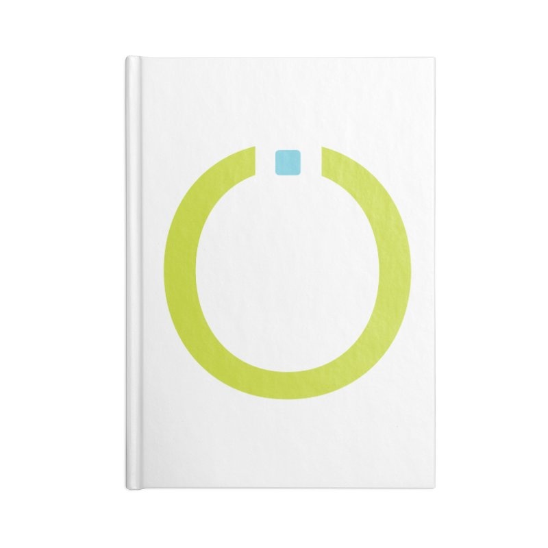 Green Pictogram Accessories Lined Journal Notebook by World Connect Merchandise