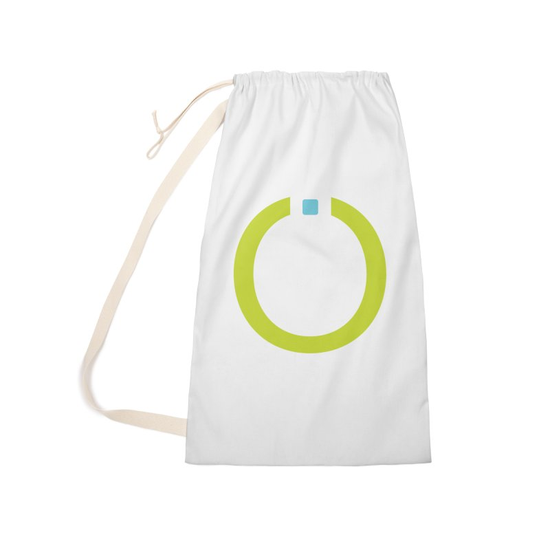 Green Pictogram Accessories Laundry Bag Bag by World Connect Merchandise