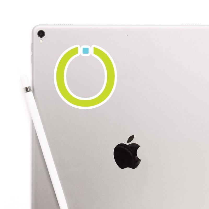 Green Pictogram Accessories Sticker by World Connect Merchandise