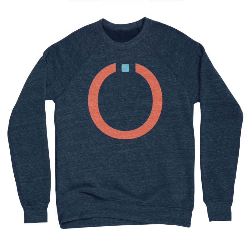 Coral Pictogram Men's Sponge Fleece Sweatshirt by World Connect Merchandise
