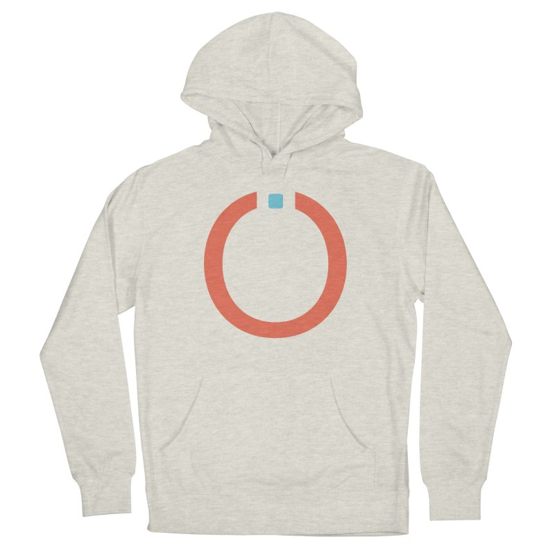 Coral Pictogram Men's Pullover Hoody by World Connect Merchandise