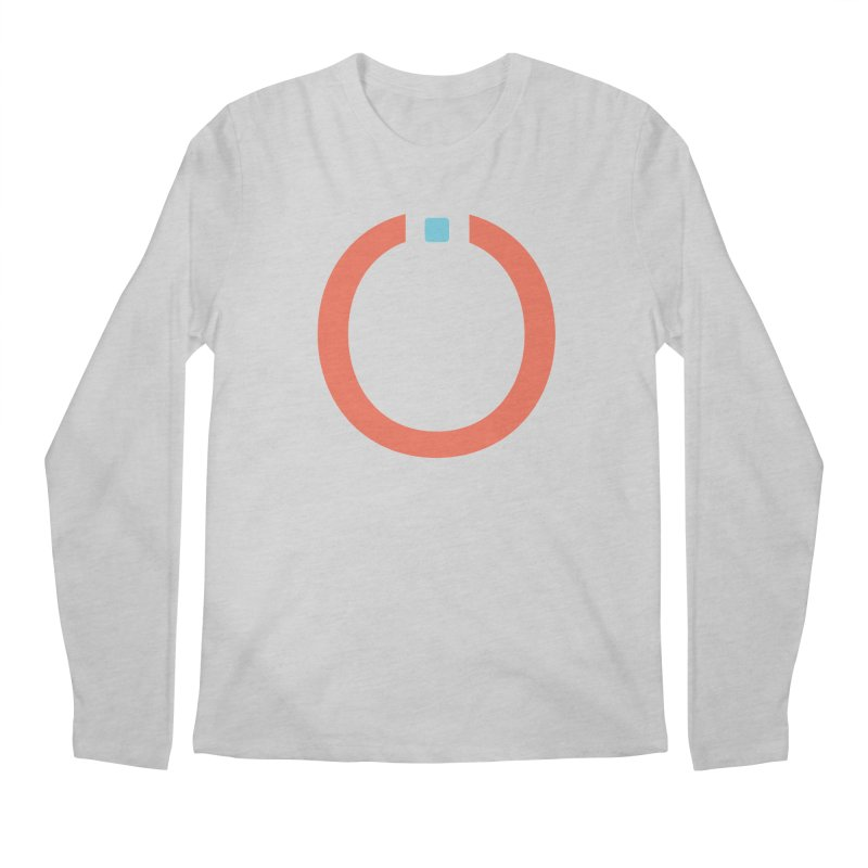 Coral Pictogram Men's Longsleeve T-Shirt by World Connect Merchandise