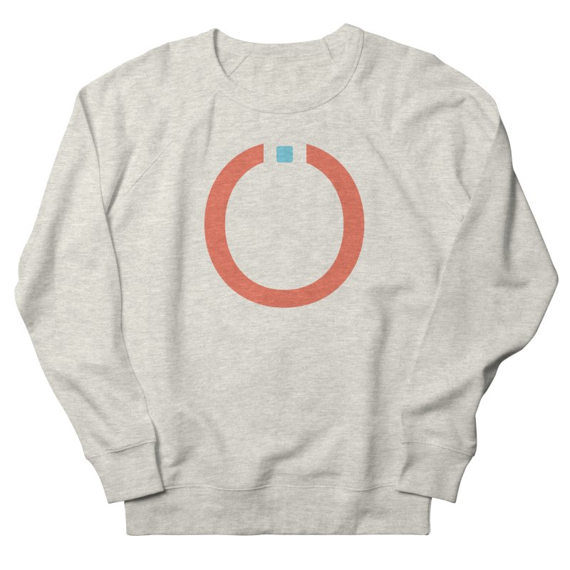 Coral Pictogram Men's French Terry Sweatshirt by World Connect Merchandise