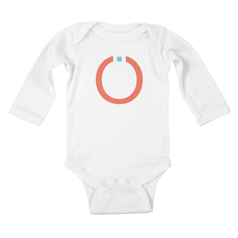 Coral Pictogram Kids Baby Longsleeve Bodysuit by World Connect Merchandise