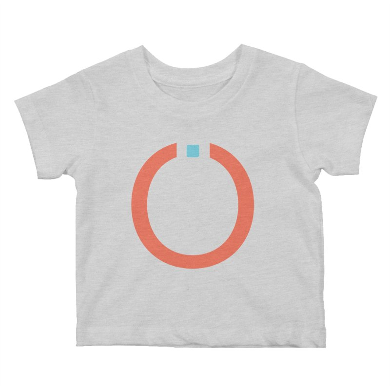 Coral Pictogram Kids Baby T-Shirt by World Connect Merchandise
