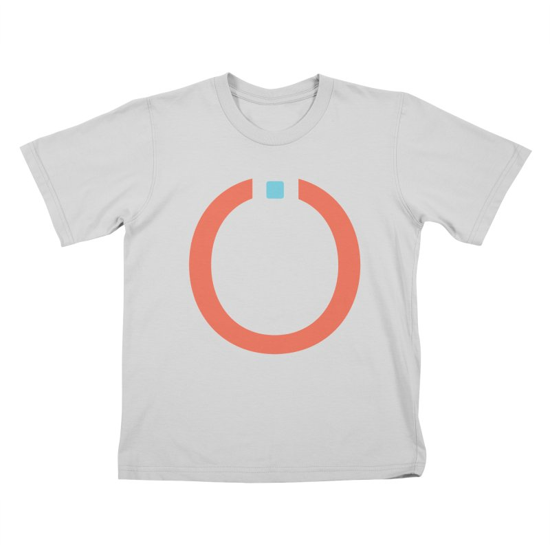 Coral Pictogram Kids T-Shirt by World Connect Merchandise