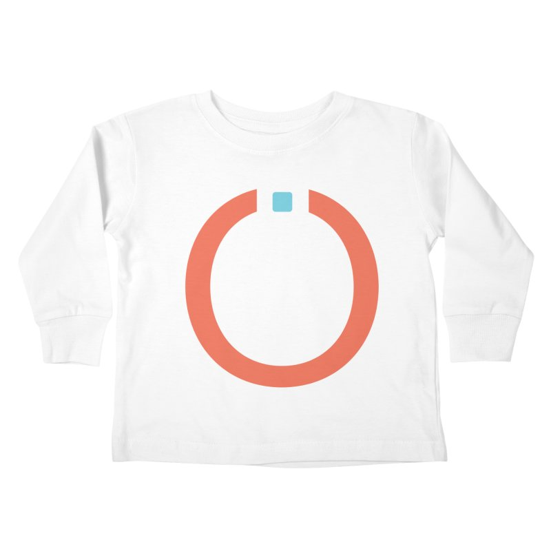 Coral Pictogram Kids Toddler Longsleeve T-Shirt by World Connect Merchandise