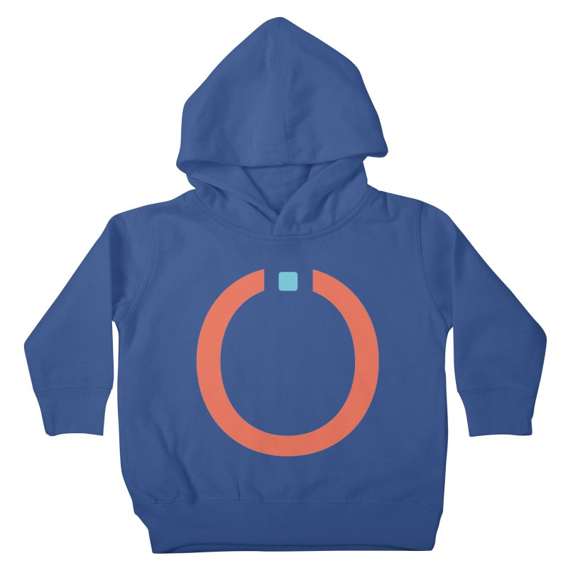 Coral Pictogram Kids Toddler Pullover Hoody by World Connect Merchandise