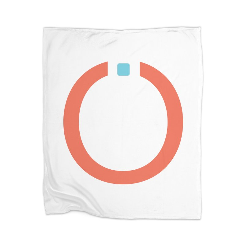 Coral Pictogram Home Blanket by World Connect Merchandise