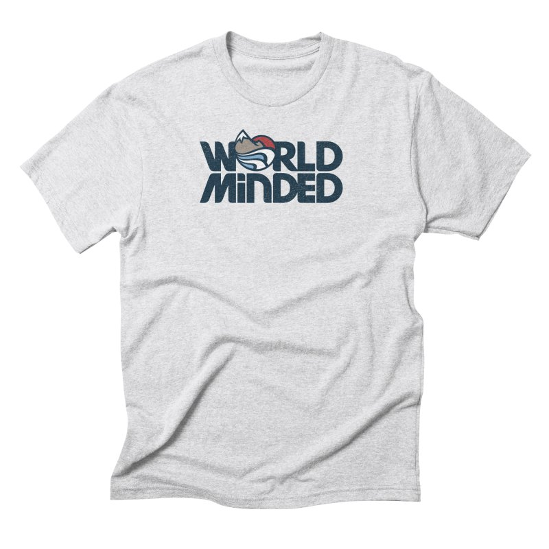 Charged Men's Triblend T-Shirt by World Minded