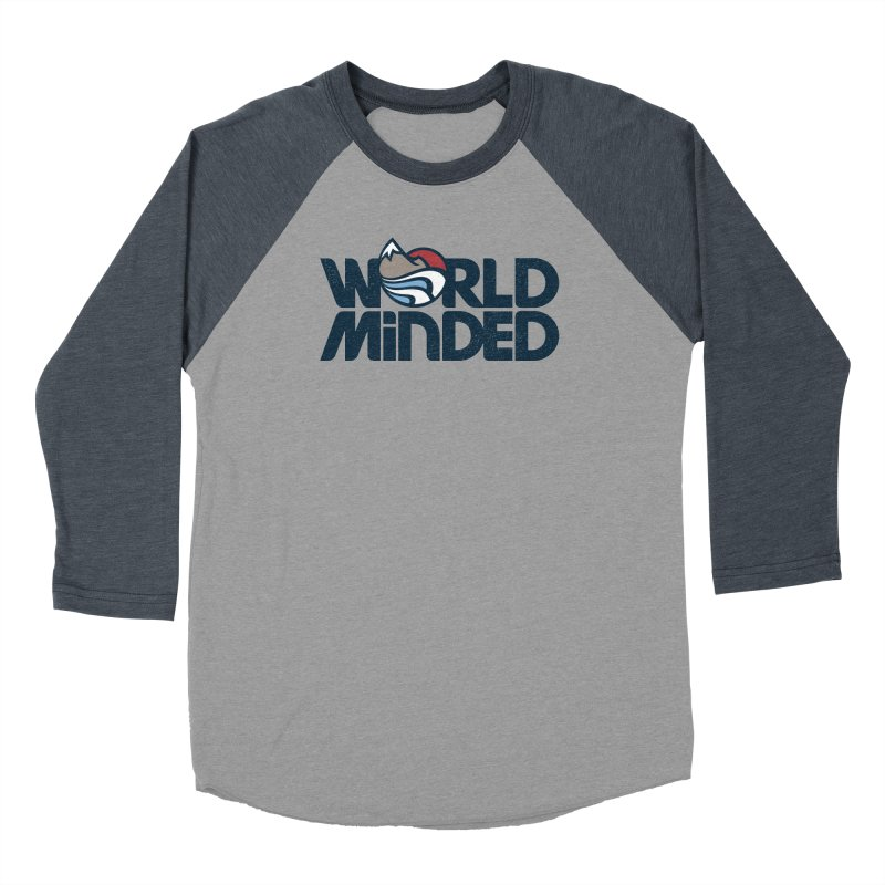 Charged Men's Baseball Triblend Longsleeve T-Shirt by World Minded