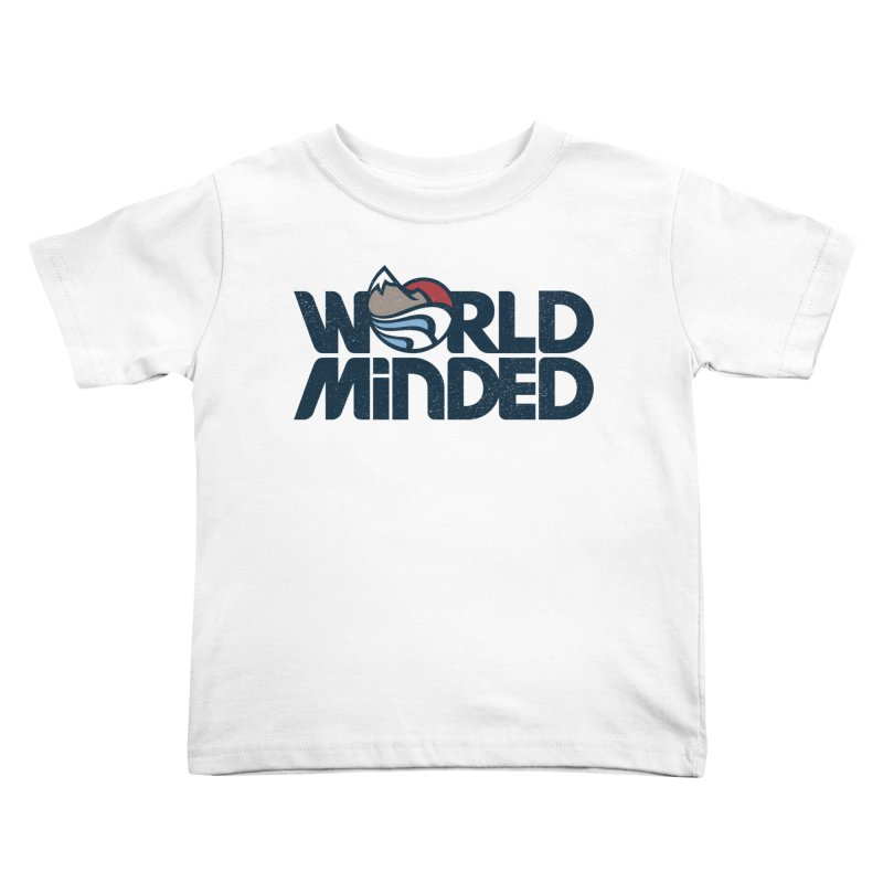 Charged Kids Toddler T-Shirt by World Minded