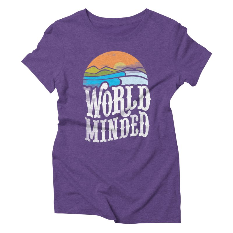 Sunseter Women's Triblend T-Shirt by World Minded
