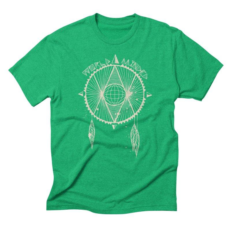 Global Eye Men's Triblend T-Shirt by World Minded