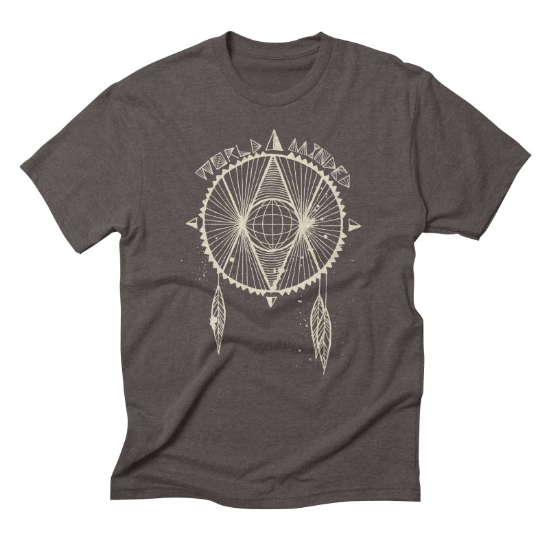 Global Eye Men's Triblend T-Shirt by World Minded