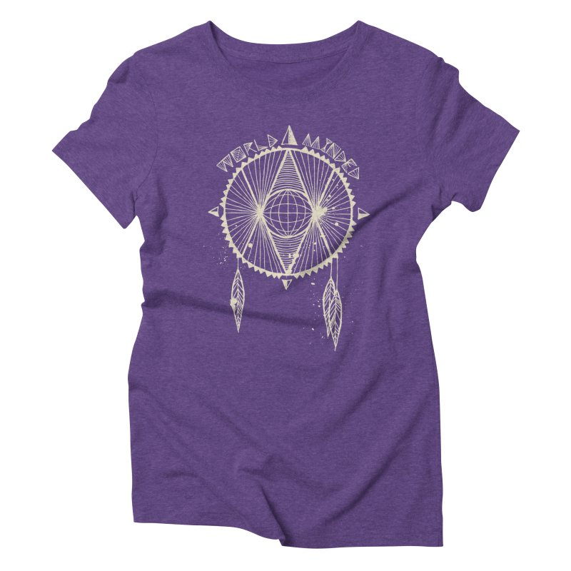 Global Eye Women's Triblend T-Shirt by World Minded