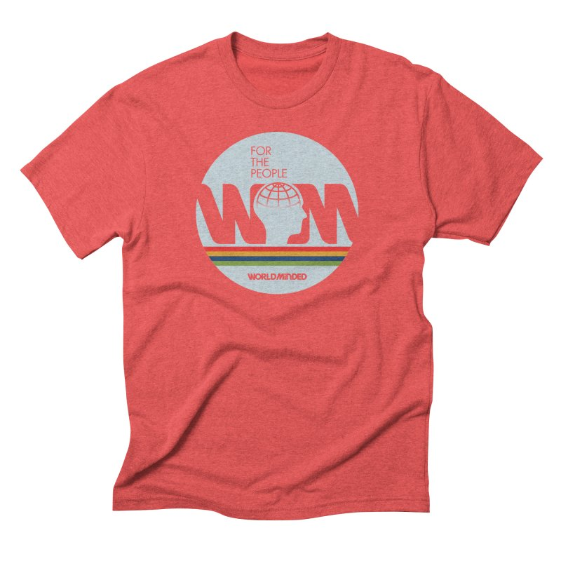 For the People Men's Triblend T-Shirt by World Minded