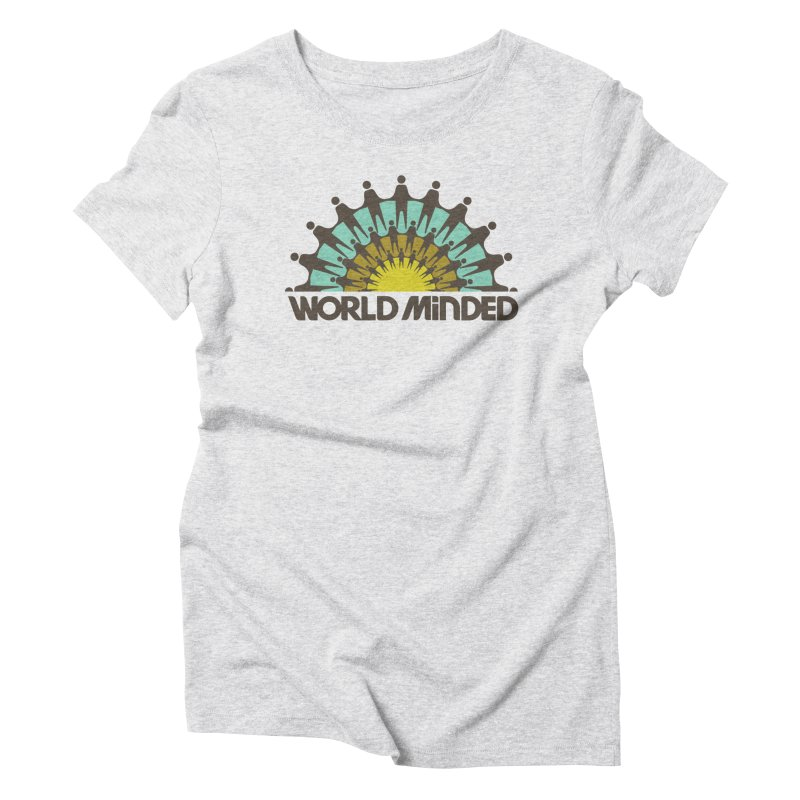 United Women's Triblend T-Shirt by World Minded