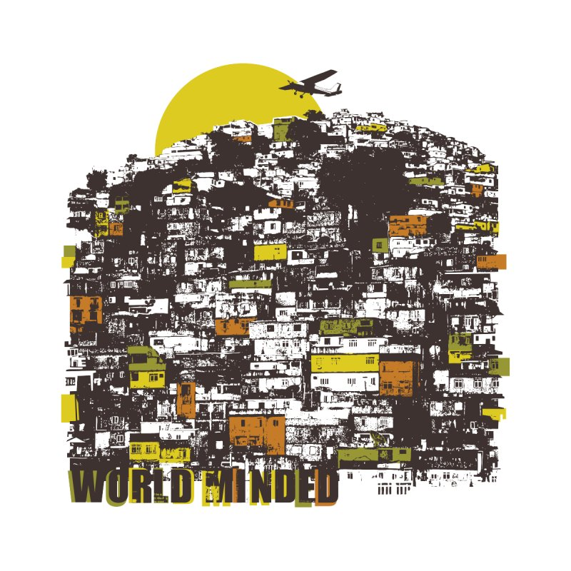 Favela Men's T-Shirt by World Minded