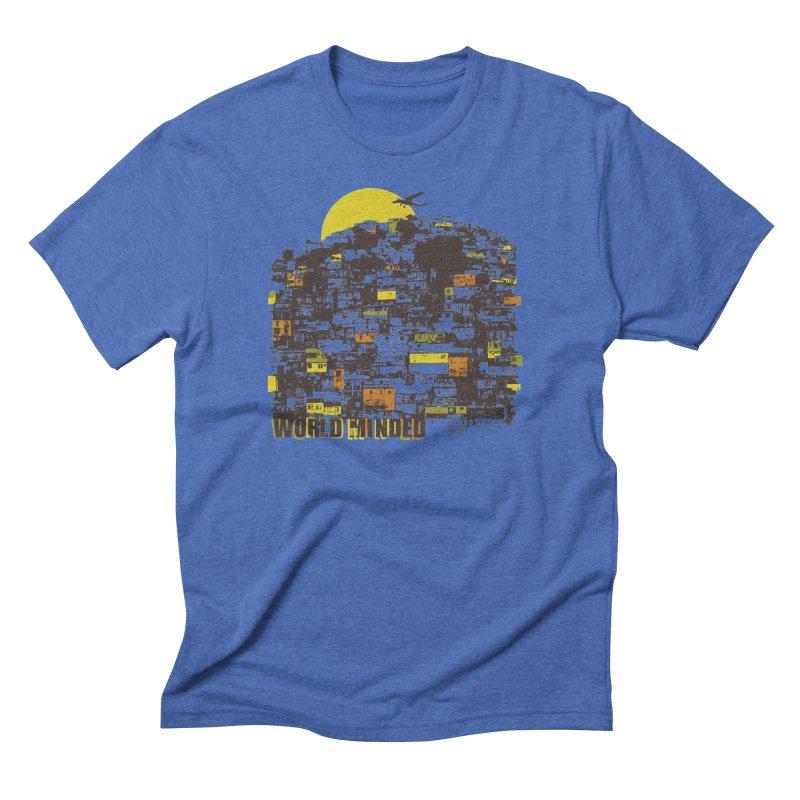 Favela Men's Triblend T-Shirt by World Minded