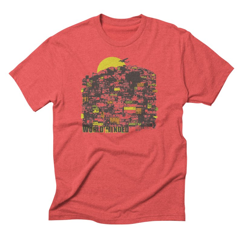 Favela Men's Triblend T-Shirt by World Minded