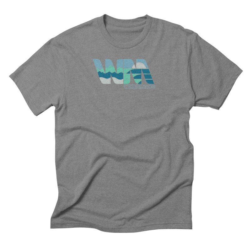 Terrain Men's Triblend T-Shirt by World Minded