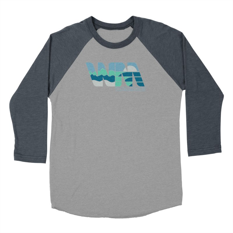 Terrain Women's Baseball Triblend Longsleeve T-Shirt by World Minded