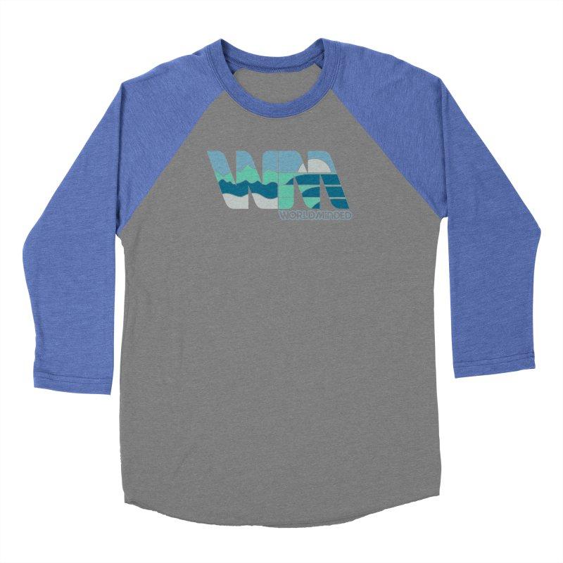 Terrain Men's Baseball Triblend Longsleeve T-Shirt by World Minded