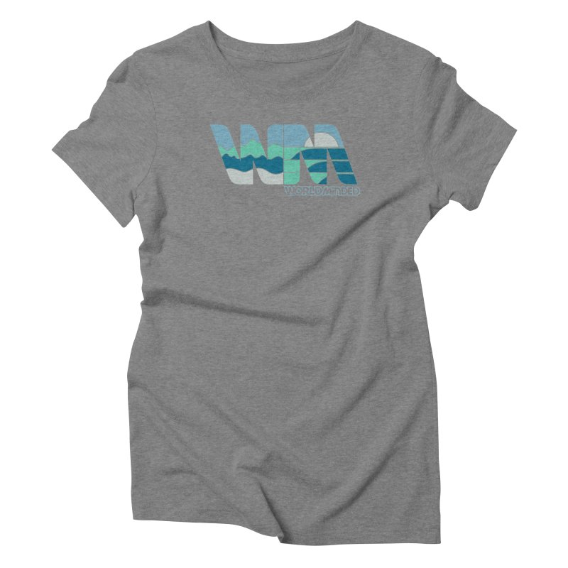 Terrain Women's Triblend T-Shirt by World Minded