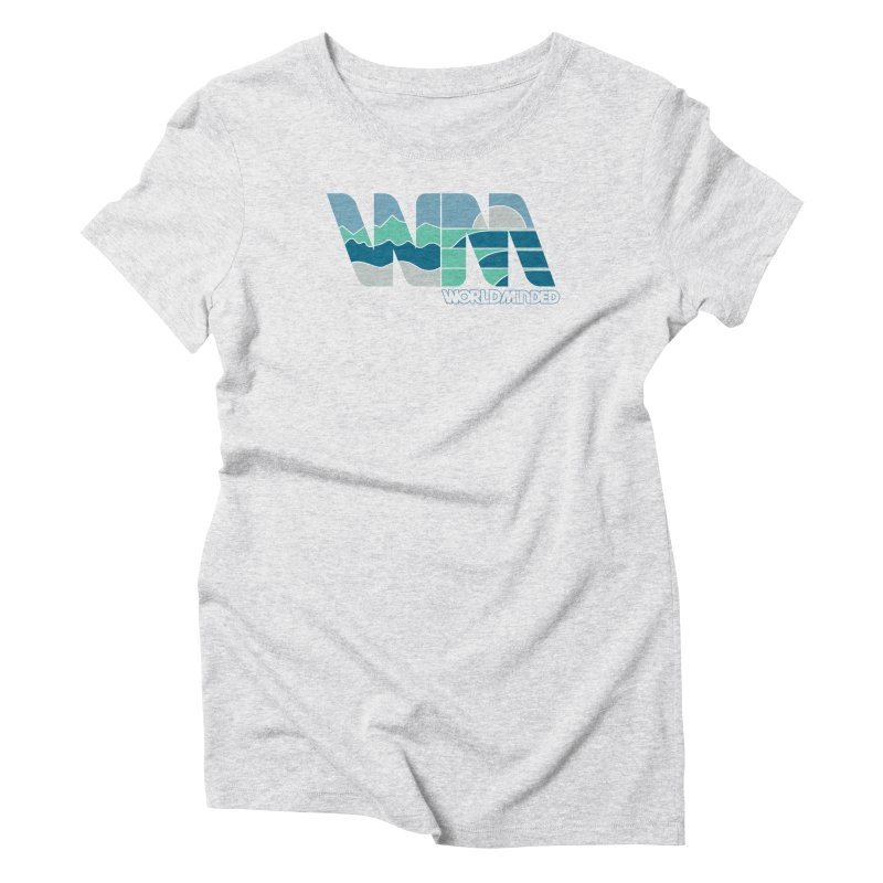 Terrain Women's Triblend T-Shirt by World Minded