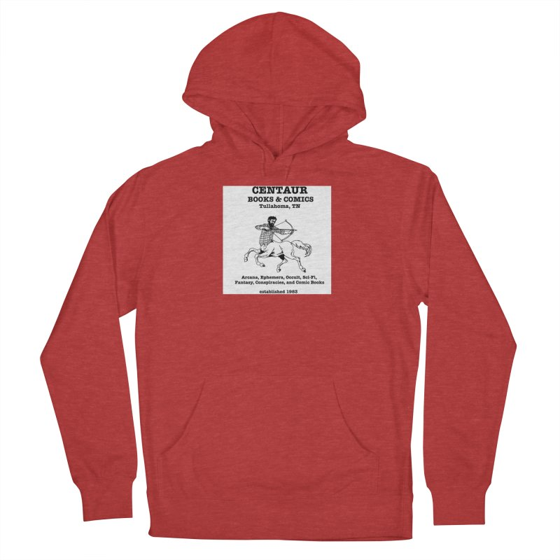 CENTAUR BOOKS AND COMICS Women's Pullover Hoody by worldwidecox's Artist Shop
