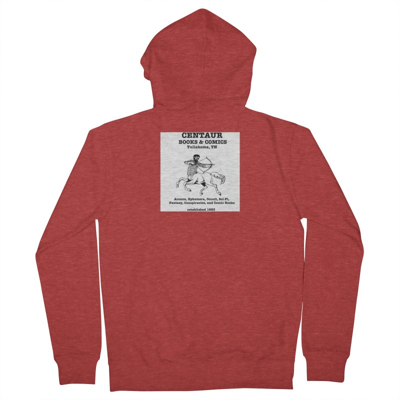 CENTAUR BOOKS AND COMICS Women's Zip-Up Hoody by worldwidecox's Artist Shop
