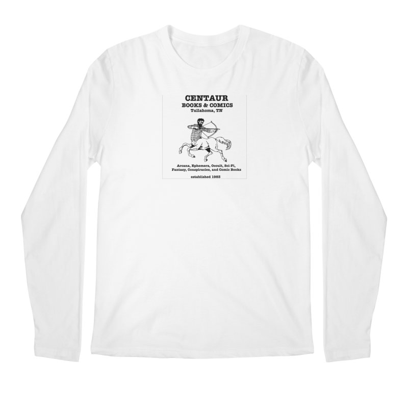 CENTAUR BOOKS AND COMICS Men's Longsleeve T-Shirt by worldwidecox's Artist Shop