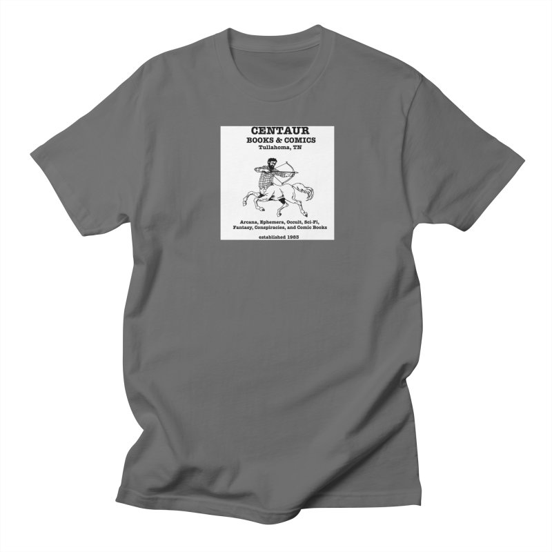 CENTAUR BOOKS AND COMICS Women's Unisex T-Shirt by worldwidecox's Artist Shop