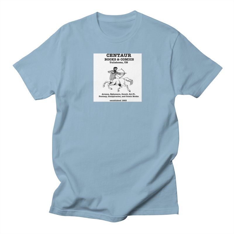 CENTAUR BOOKS AND COMICS Men's T-Shirt by worldwidecox's Artist Shop