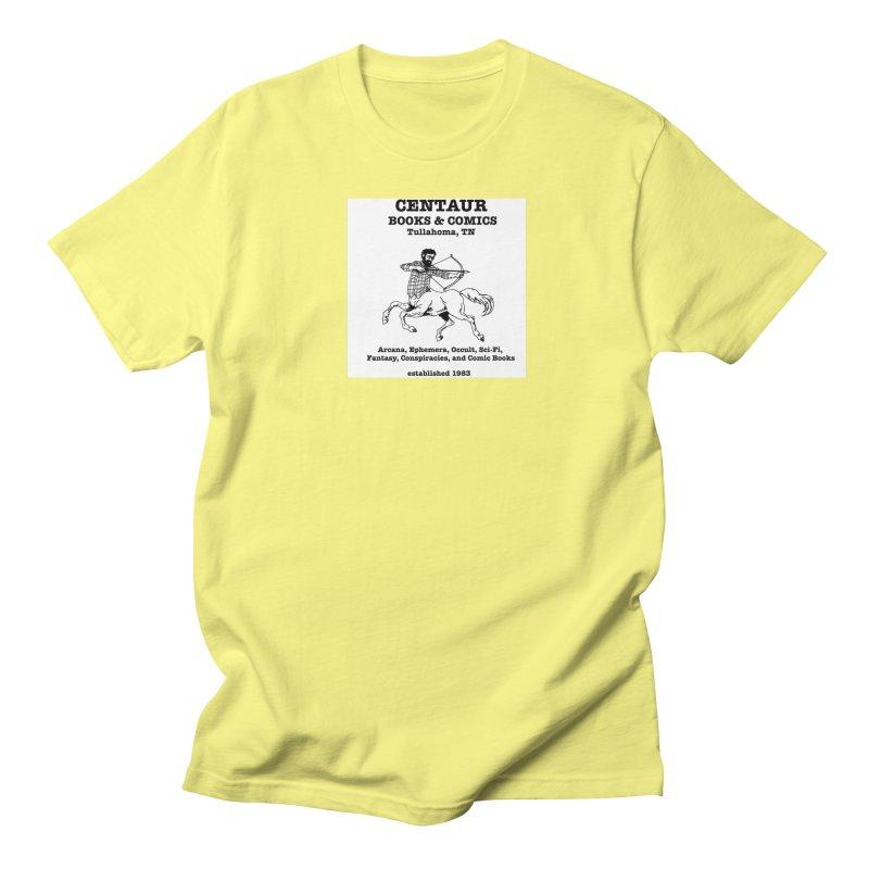 CENTAUR BOOKS AND COMICS Women's Unisex T-Shirt by worldwidecox's Artist Shop