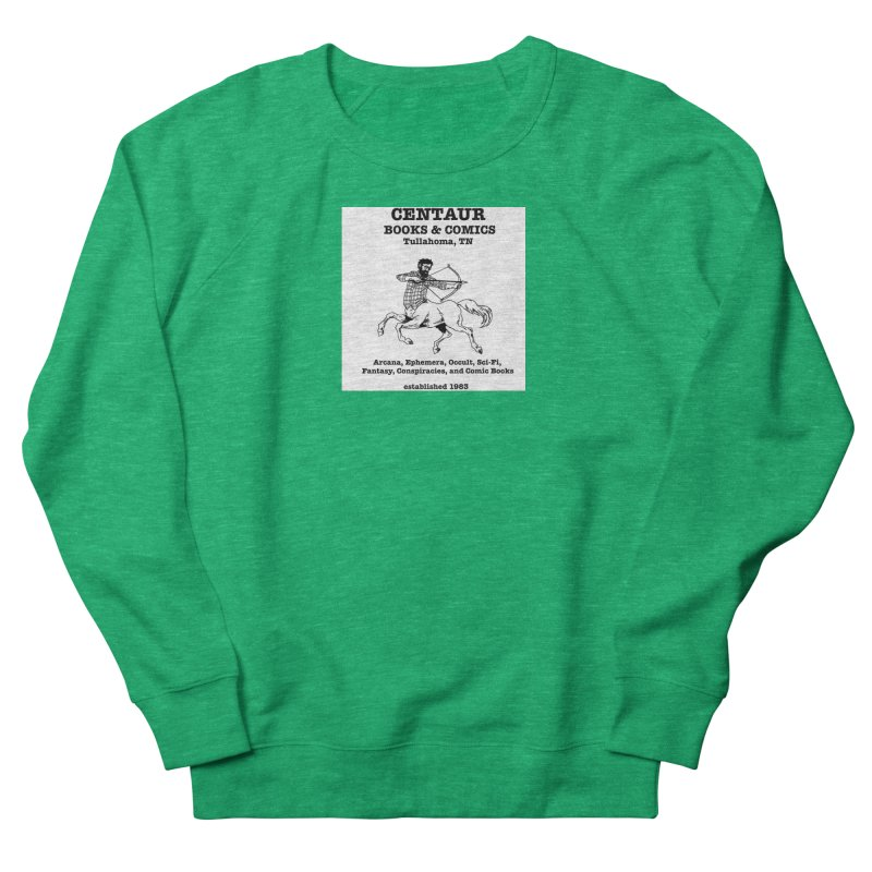 CENTAUR BOOKS AND COMICS Women's Sweatshirt by worldwidecox's Artist Shop