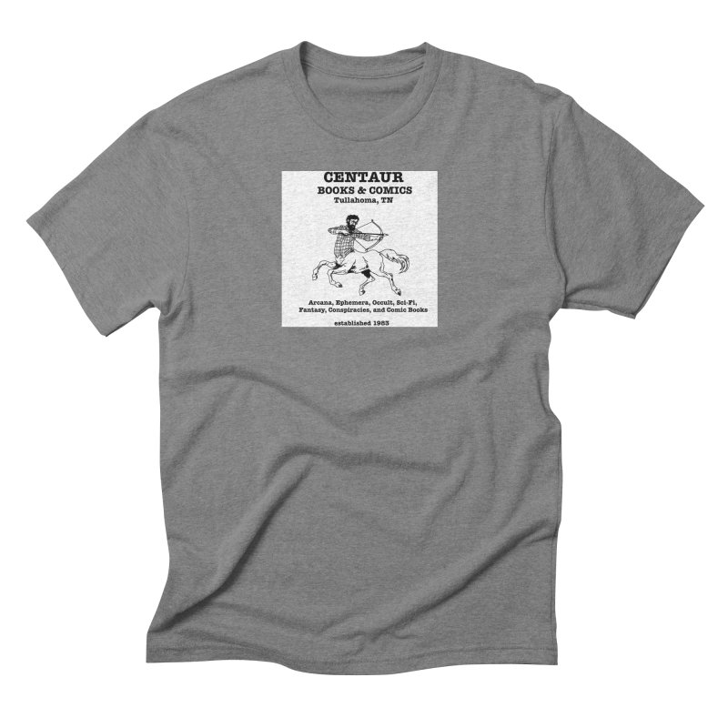 CENTAUR BOOKS AND COMICS Men's Triblend T-Shirt by worldwidecox's Artist Shop
