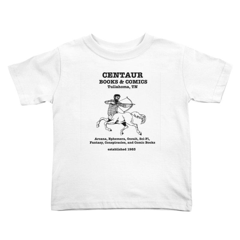 CENTAUR BOOKS AND COMICS Kids Toddler T-Shirt by worldwidecox's Artist Shop