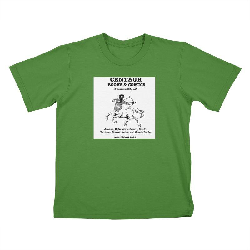CENTAUR BOOKS AND COMICS Kids T-shirt by worldwidecox's Artist Shop