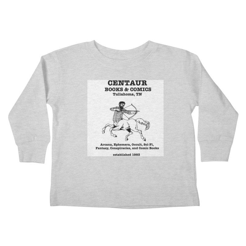 CENTAUR BOOKS AND COMICS Kids Toddler Longsleeve T-Shirt by worldwidecox's Artist Shop