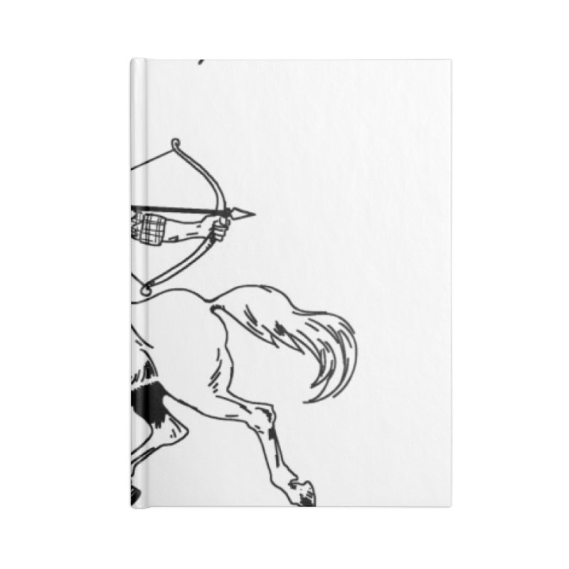 CENTAUR BOOKS AND COMICS Accessories Notebook by worldwidecox's Artist Shop