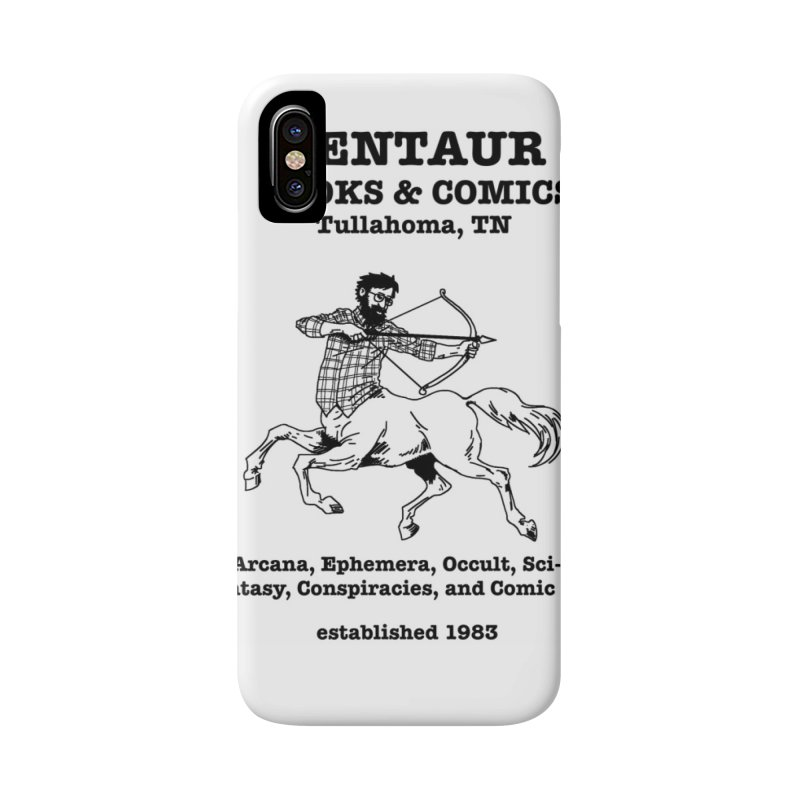 CENTAUR BOOKS AND COMICS Accessories Phone Case by worldwidecox's Artist Shop